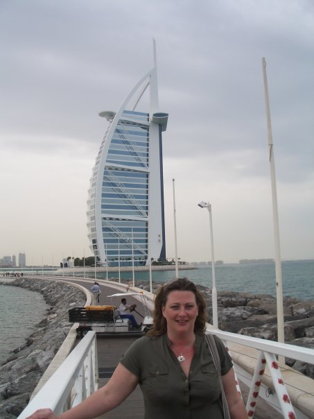 Burj Al Arab and me in 2007