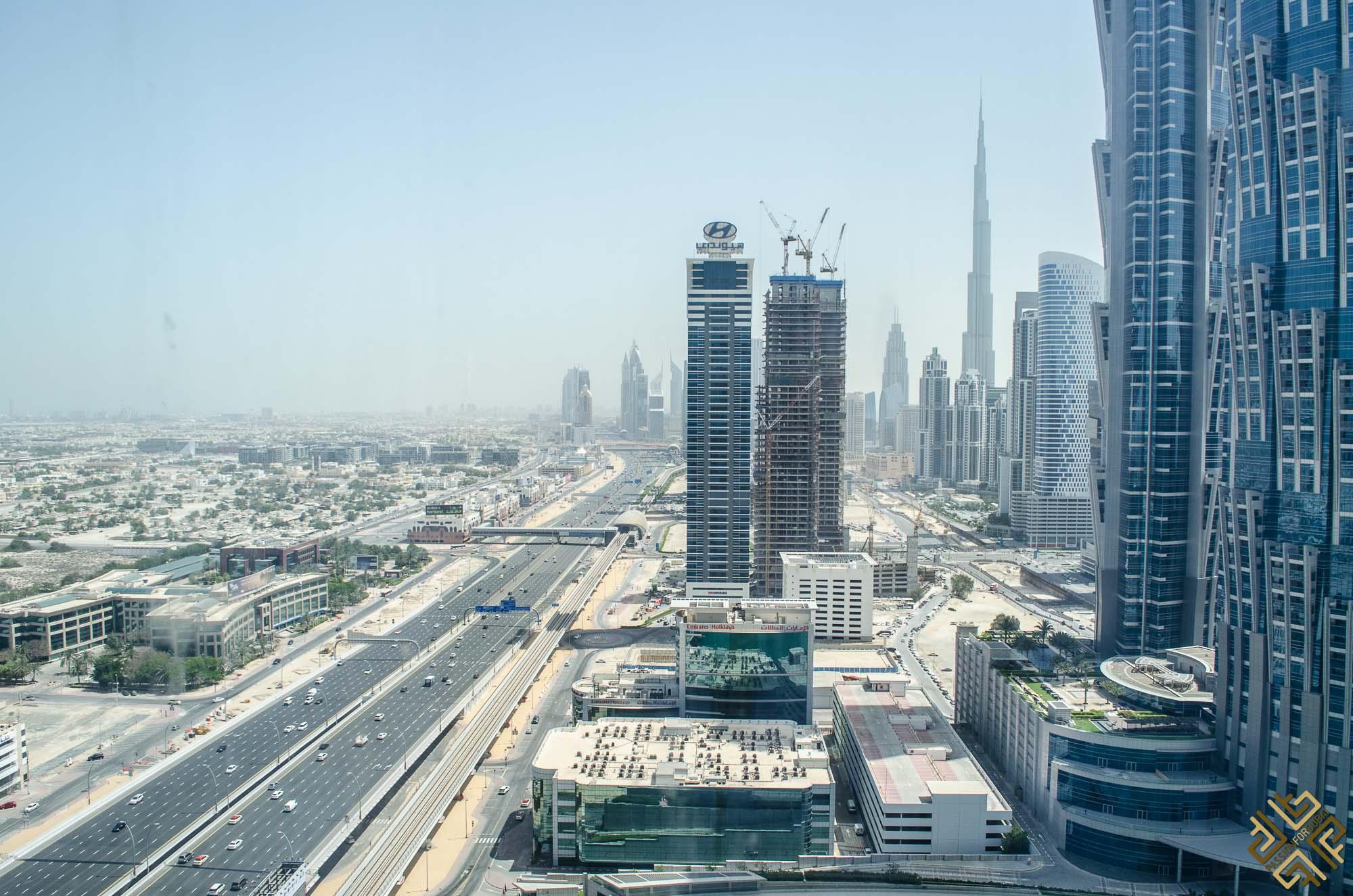 Burj Khalifa Inside The Westin Dubai Al Habtoor City Urban Chic Passion