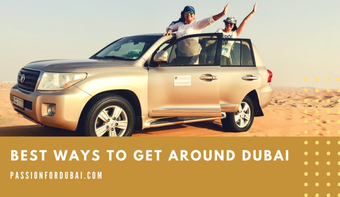 Best ways to get around Dubai