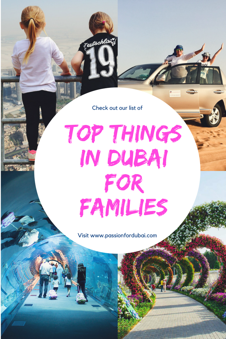 The top things to do in Dubai for families.