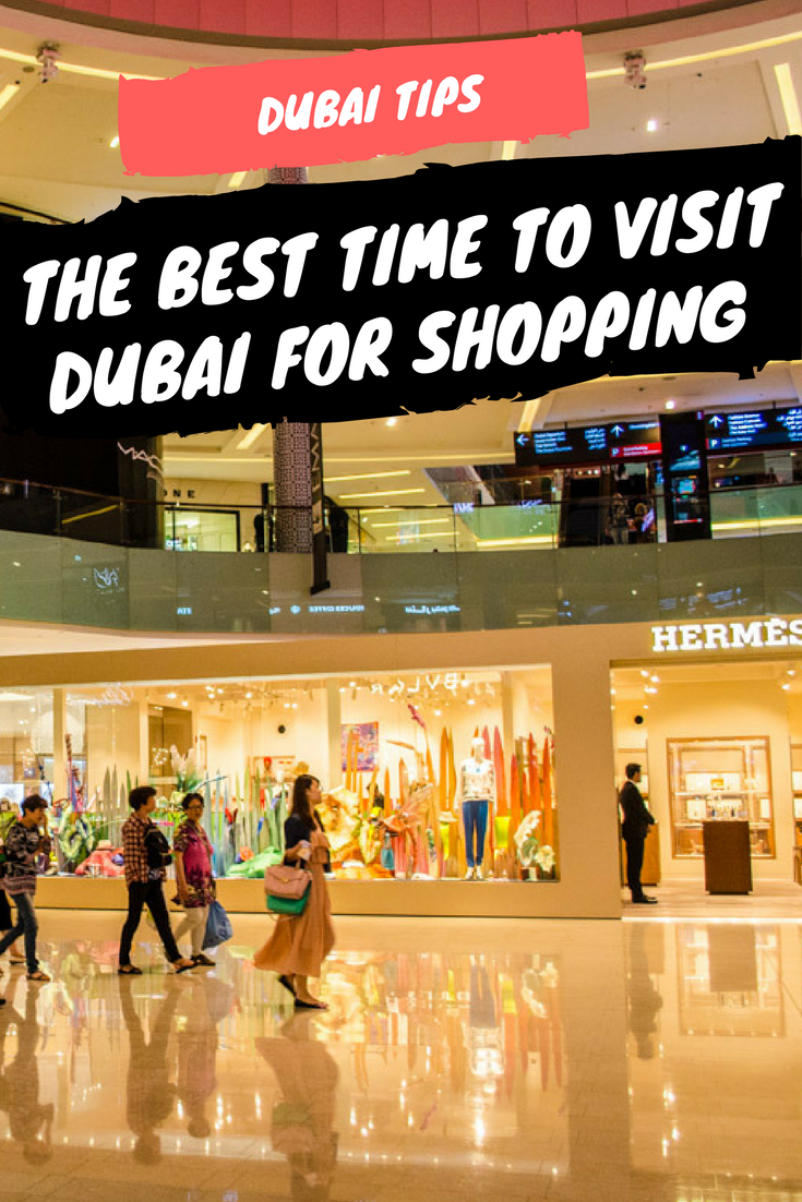 When is the best time to visit Dubai for Shopping. All about the shopping festival and much more