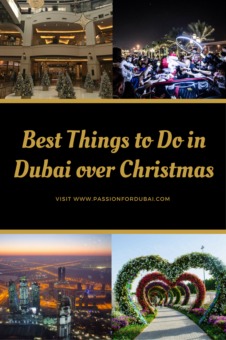 Best things to do in Dubai over Christmas