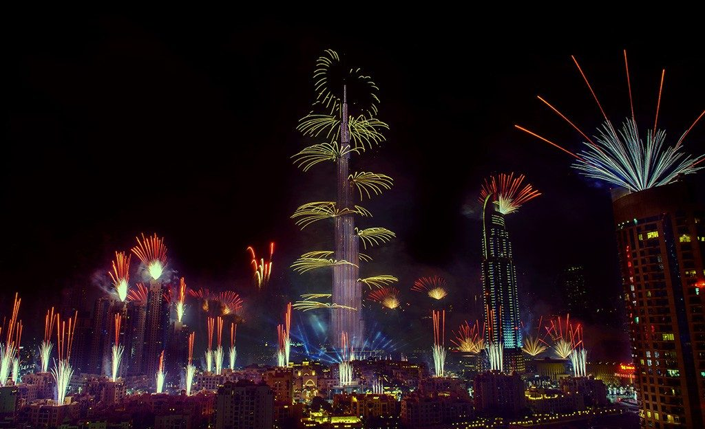 Best Places To Watch New Year Fireworks in Dubai