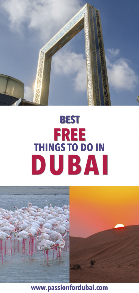 The best free things you can to in magical Dubai