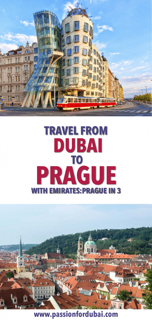 Travel from #Dubai to the capital of Czech Republic, Prague. Our guide to spending 3 days in #Prague.